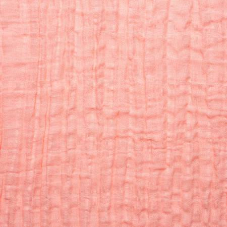 SHANNON - Coral Embrace Double Gauze Solid