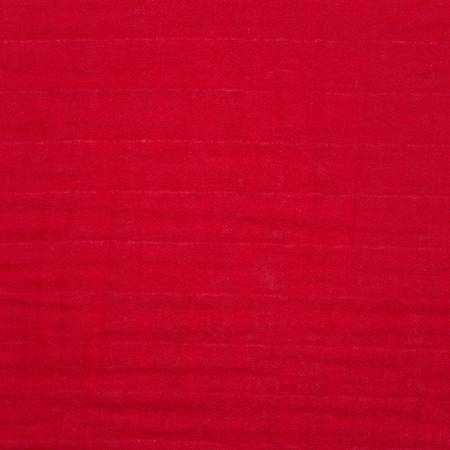 Ruby Solid Embrace Double Gauze
