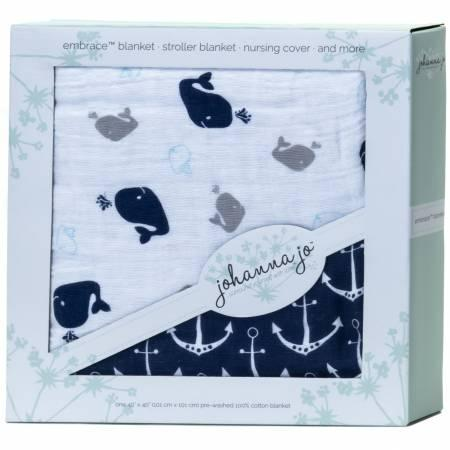 Embrace Whales Blanket Kit