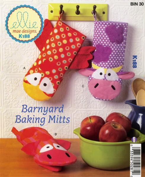 Barnyard Baking Mitts