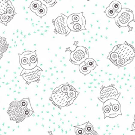 Double Gauze Embrace Owls