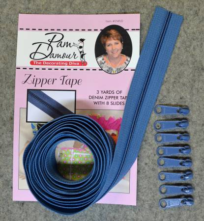 Denim Zipper Tape