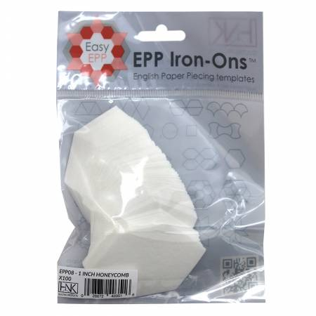 1in Honeycomb EPP Iron-on x 100
