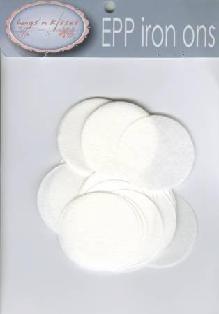 1.5 EPP Iron-on Circles - 60 ct