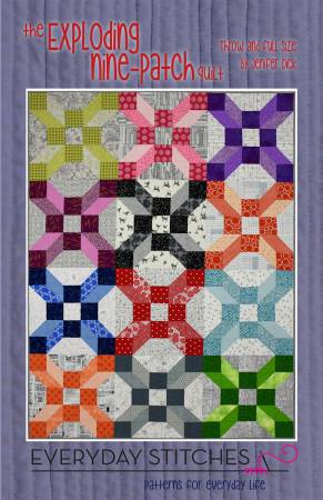 The Exploding Nine Patch Quilt