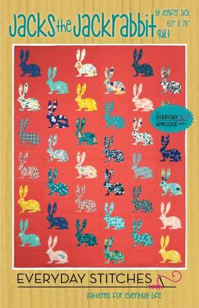 Jacks the Jackrabbit Quilt Pattern by Everyday Stitches