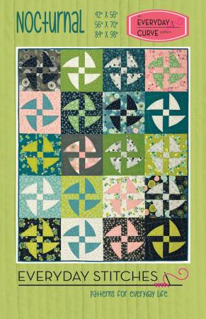 Everyday Stitches Nocturnal Quilt Pattern