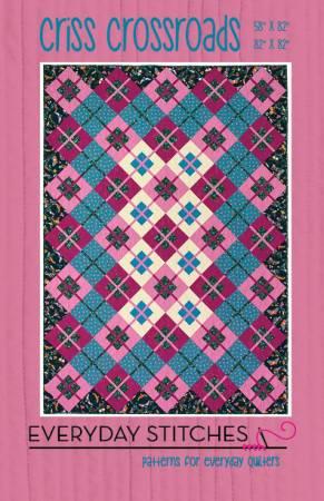 Criss Crossroads Quilt Pattern