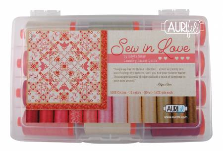 Sew In Love Thread Collection 50wt 12 Large Cotton Spools