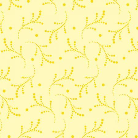 Yellow Dotted Vines - ESS3662-Y