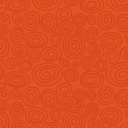 Orange Ellipse Rings