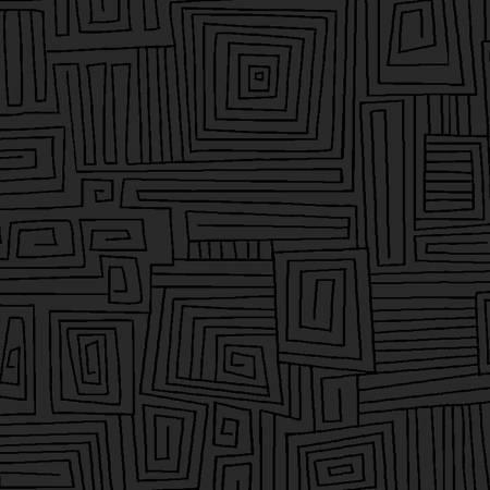 Black on Black Maze