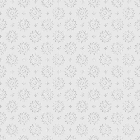 Light Grey Dots Geo