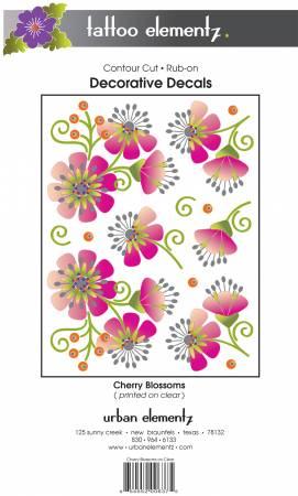 Tattoo Elementz Cherry Blossoms Tattoo on Clear
