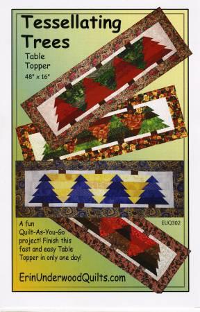 Tessellating Trees table runner