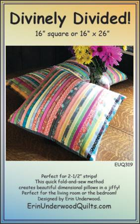 Divinely Divided Pillow