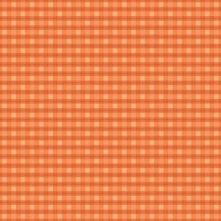 Woodland Flannel - Plaid - Orange