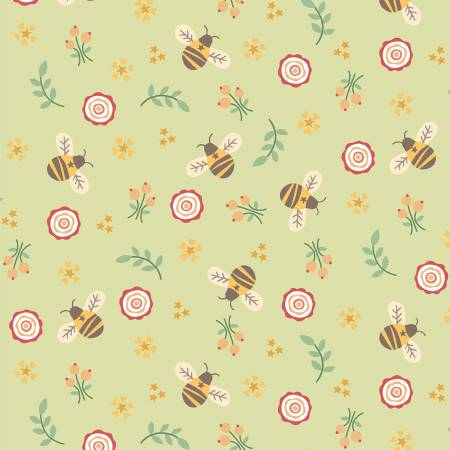 Bumble Garden F1399-66 Green