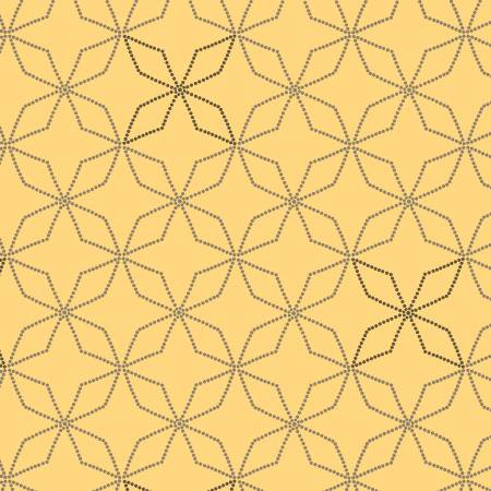 Bumble Garden F1402 44 Gold Kaleidoscope Flannel