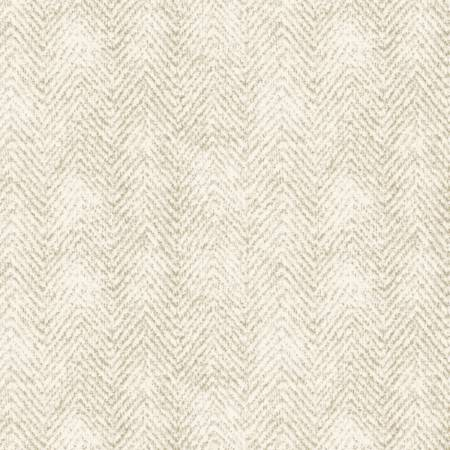 Maywood Studio - Woolies Flannel-Cream Herringbone