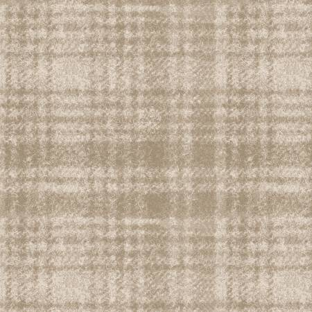 Woolies Flannel White/Tan Plaid -MASF18501-E