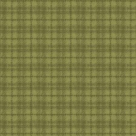 Woolies Flannel Green