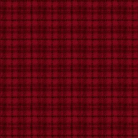 Woolies Flannel Red Plaid