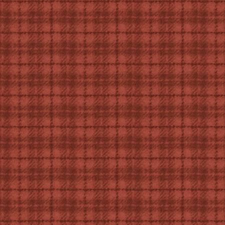 Woolies Flannel - Orange Plaid