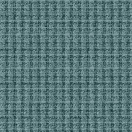 May Woolies Flannel Turquoise Plaid