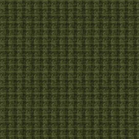 Maywood Studio - Woolies Flannel-Dark Green Double Weave