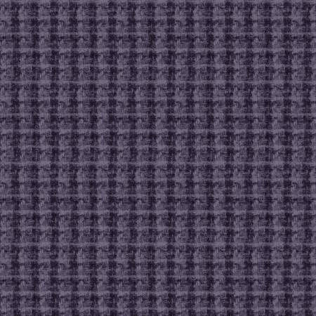 Maywood Studio - Woolies Flannel-Violet Blue Double Weave