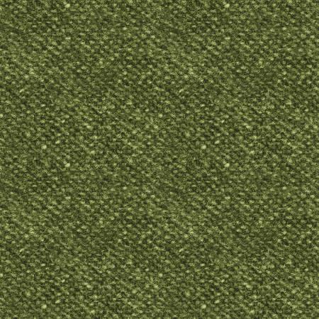 Woolies Flannel - Nubby Tweed - Green