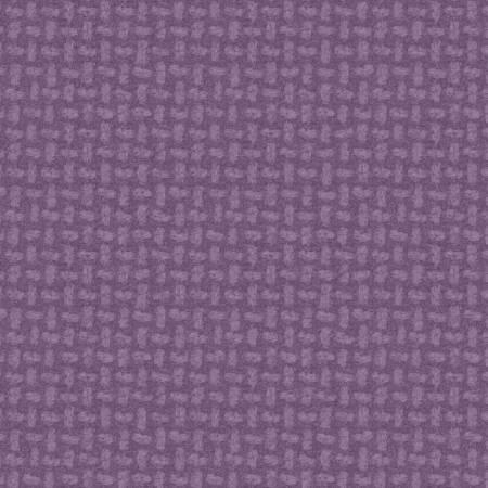 Purple Basket Weave Flannel