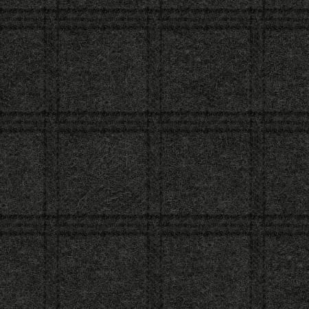 Charcoal Tartan Grid Flannel