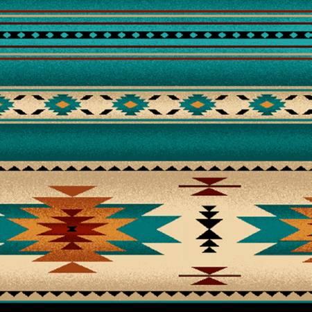 Turquoise Tucson Flannel