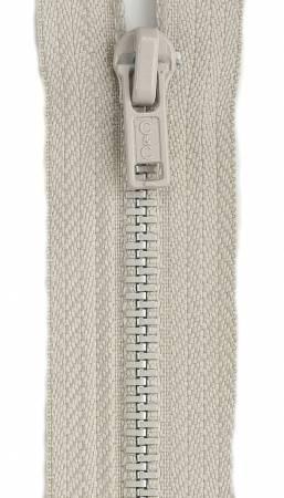 All-Purpose Metal Zipper 7in Ecru