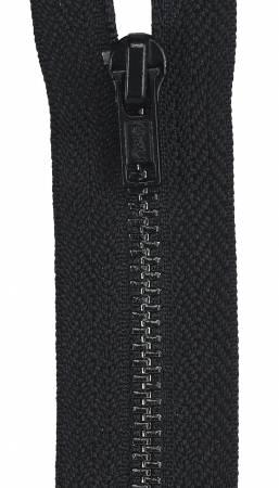All-Purpose Metal Zipper 9in Black