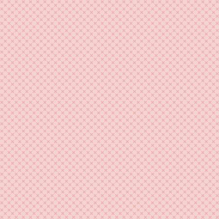 Kisses Flannel Baby Pink