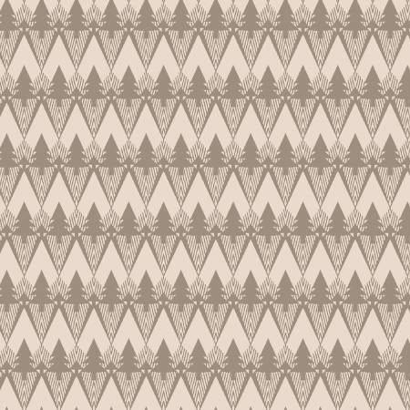 Cream Mountain Texture on Flannel