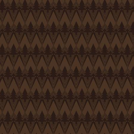 Chocolate Mountain Texture on Flannel