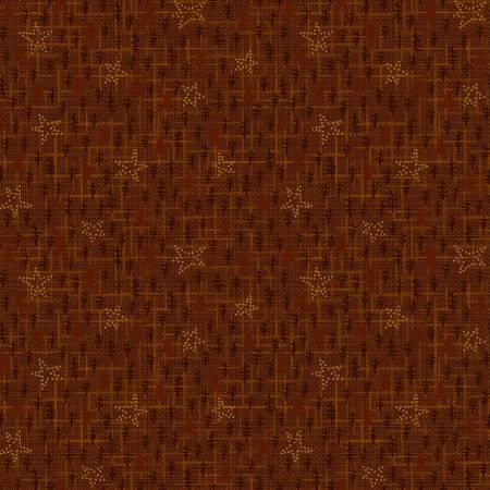 Folk Art Flannel III Russet