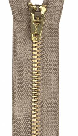 Packaged Metal Jean Zipper 9in Dogwood