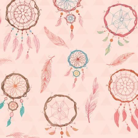 Pink Dream Catcher Flannel