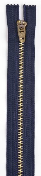 Navy Blue 7 Jeans Zipper