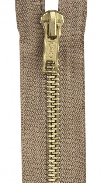 Brass Coverall Zipper 22in Dogwood