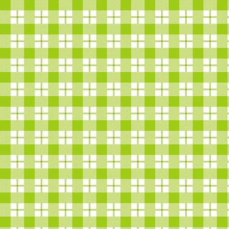 Ric Rac Paddywack - Lime Plaid Flannel by Kim Diehl