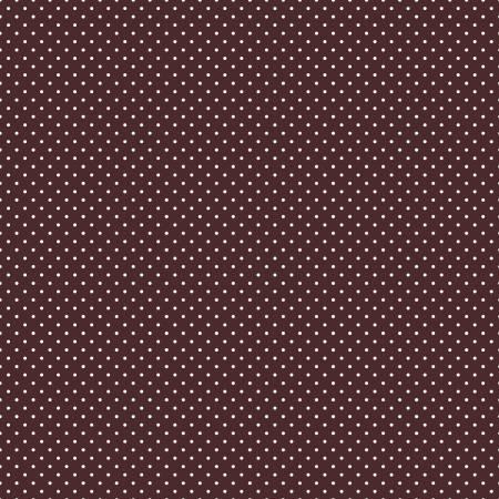 Swiss Dot Brown In Flannel