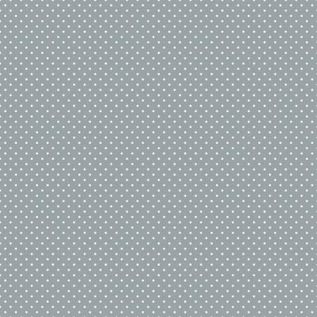 Riley Blake - Swiss Dot Gray In Flannel F670R-GRAY