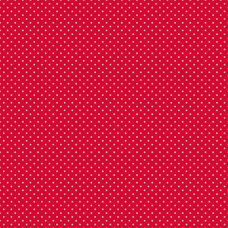 Swiss Dot Red In Flannel