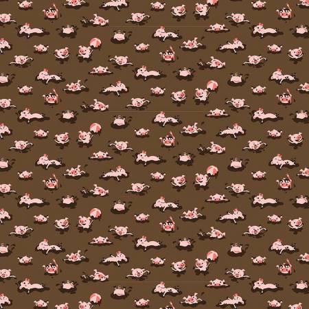 Hog Wash Brown Flannel